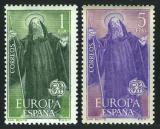 Poštovní známky Španělsko 1965 Evropa CEPT Mi# 1565-66
