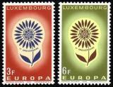 Poštovní známky Lucembursko 1964 Evropa CEPT Mi# 697-98