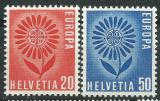 Poštovní známky Švýcarsko 1964 Evropa CEPT Mi# 800-01