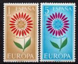 Poštovní známky Španělsko 1964 Evropa CEPT Mi# 1501-02