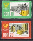 DDR 1963 Den známek Mi# 998-99