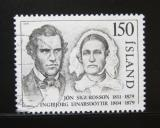 Poštovní známka Island 1979 Osobnosti Mi# 545