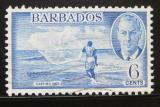 Poštovní známka Barbados 1950 Vrhání sítě Mi# 188