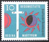 Poštovní známka Německo 1963 Kříž Golgoty Mi# 397