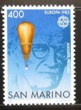 Poštovní známka San Marino 1983 Auguste Piccard, fyzik Mi# 1278