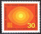 Poštovní známka Německo 1969 Setkání německých protestantů Mi# 595