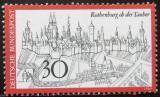 Poštovní známka Německo 1969 Rothenburg ob der Tauber Mi# 603