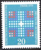 Poštovní známka Německo 1970 Den katolíků Mi# 648