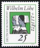 Poštovní známka Německo 1972 Wilhelm Löhe Mi# 710