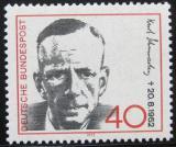 Poštovní známka Německo 1972 Kurt Schumacher, politik Mi# 738