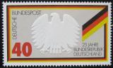 Poštovní známka Německo 1974 Výročí vzniku republiky Mi# 807
