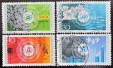 Poštovní známky Německo 1973 Ochrana životního prostředí Mi# 774-77