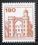 Poštovní známka Západní Berlín 1977 Zámek Mespelbrunn Mi# 539