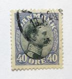 Poštovní známka Dánsko 1918 Král Kristián X. Mi# 104 b