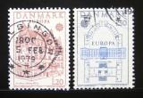 Poštovní známky Dánsko 1978 Evropa CEPT Mi# 662-63