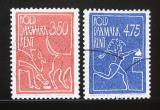 Poštovní známky Dánsko 1991 Za čisté Dánsko Mi# 1010-11