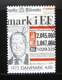 Poštovní známka Dánsko 2000 Noviny z roku 1972 Mi# 1263