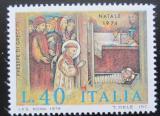 Poštovní známka Itálie 1974 František z Assisi, vánoce Mi# 1472