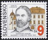 Poštovní známka Slovensko 1995 Samuel Jurkovič Mi# 216