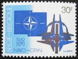 Poštovní známka Belgie 1979 NATO, 30. výročí Mi# 1979