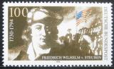 Poštovní známka Německo 1994 Baron von Steuben Mi# 1766