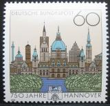 Poštovní známka Německo 1991 Hanover, 750. výročí Mi# 1491