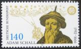 Poštovní známka Německo 1992 Johann A. Schall Mi# 1607
