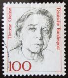 Poštovní známka Německo 1988 Therese Giehse Mi# 1390