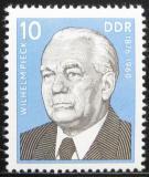 Poštovní známka DDR 1976 Prezident W. Pieck Mi# 2106