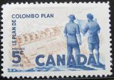 Poštovní známka Kanada 1961 Colombův plán Mi# 341