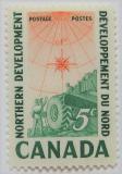 Poštovní známka Kanada 1961 Kanadský Sever Mi# 338