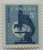 Poštovní známka Kanada 1958 Mez. rok geofyziky Mi# 323
