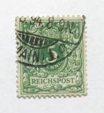 Poštovní známka Německo 1889 Nominální hodnota Mi# 46