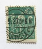 Poštovní známka Německo 1923 Farmáři Mi# 244