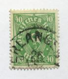Poštovní známka Německo 1923 Poštovní trumpeta Mi# 232