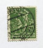 Poštovní známka Německo 1922 Práce s železem Mi# 187