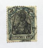 Poštovní známka Německo 1919 Germania Mi# 104