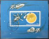 Poštovní známka Maďarsko 1965 Průzkum vesmíru Mi# Block 52