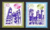 Poštovní známky DDR 1971 Veletrh v Lipsku Mi# 1700-01