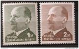 Poštovní známky DDR 1969 Prezident Walter Ulbricht Mi# 1481-82