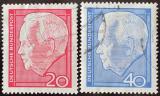 Poštovní známky Německo 1964 Prezident Lubke Mi# 429-30