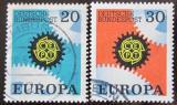Poštovní známky Německo 1967 Evropa CEPT Mi# 533-34