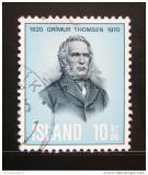 Poštovní známka Island 1970 Grimur Thomsen Mi# 445