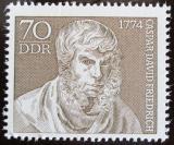 Poštovní známka DDR 1974 Caspar David Friedrich, malíř Mi# 1962