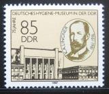 Poštovní známka DDR 1987 Muzeum hygieny Mi# 3089