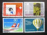 Poštovní známky Švýcarsko 1979 Výročí a události Mi# 1150-53