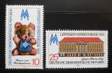 Poštovní známky DDR 1979 Lipský veletrh Mi# 2452-53