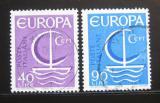 Poštovní známky Itálie 1966 Evropa CEPT Mi# 1215-16