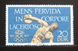 Poštovní známka DDR 1971 Discobulos Mi# 1660