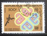 Poštovní známka Džibutsko 1983 Rok komunikace Mi# 371